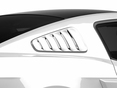 MMD Classic Quarter Window Louvers - Pre-Painted (10-14 All) - MMD 71316