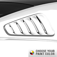 MMD Classic Quarter Window Louvers - Pre-Painted (10-14 All)