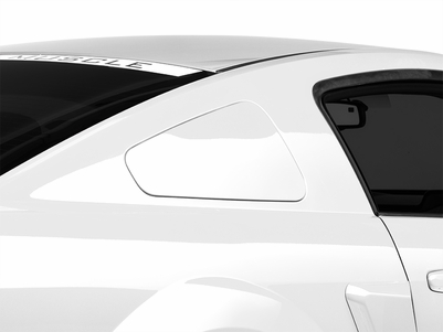 MMD GT350 Style Window Covers - Pre-Painted (05-09 All) - MMD 71318