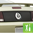 MMD Mustang Rear Decklid Panel (05-09) - Installation Instructions