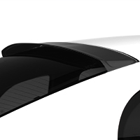 MMD Roof Spoiler - Matte Black (94-04 All)