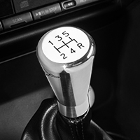Modern Billet Polished Billet Shift Knob w/ Running Pony Logo (79-04 All)