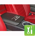 Mustang Arm Rest Cover ('05-'09) - Installation Instructions