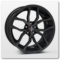 Mustang Black Foose Wheels
