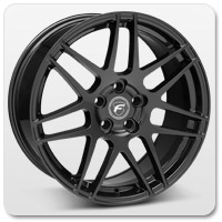 Mustang Black Forgestar Wheels