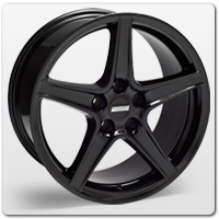 Mustang Black Saleen Style Wheels