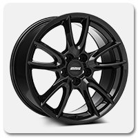 Mustang Black Track Pack Style Wheels