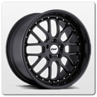 Mustang Black TSW Valencia Wheels