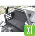 Mustang Convertible Rear Seat Delete Kit (83-93) - Installation Instructions