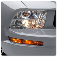 Mustang Euro Headlights