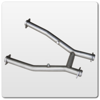 Mustang H-Pipe Exhaust