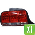 Mustang LED Taillights (05-09) - Installation Instructions