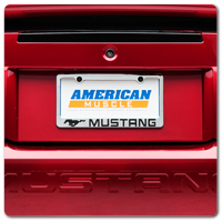 Mustang License Plates and  Frames