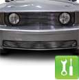 Mustang Lower Billet Grille (05-09) - Installation Instructions