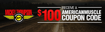 GET $100 OFF MICKEY THOMPSON TIRES