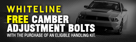 FREE CAMBER ADJUSTMENT BOLTS