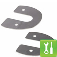 Mustang Polished Stainless Steel Hood Hinge Covers ('79-'93) - Installation Instructions