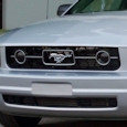 Mustang Pony Package Smoked Fog Light Covers (05-09 V6)