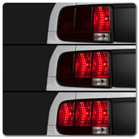Mustang Sequential Tail Lights, Sequential Turn Signals