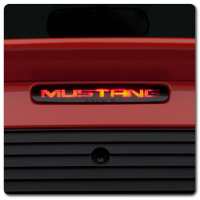 Mustang Third Brake Lights