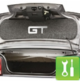 Mustang Trunk Lid Mat ('05-'09 GT) - Installation Instructions