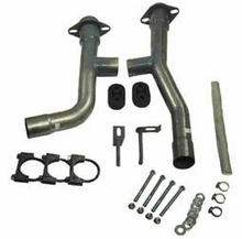 Steeda Mustang V6 Dual Exhaust Adapter Kit (99-04 V6)
