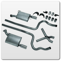 Mustang V6 Dual Exhaust Conversion Kits