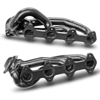 Pace Setter Black Shorty Headers (05-10 GT)