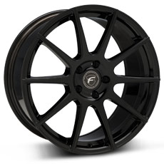 Piano Black Forgestar CF10 Wheels (2010-2014)