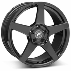 Piano Black Forgestar CF5 Wheels (05-09)