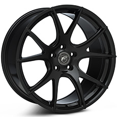 Piano Black Forgestar CF5V Monoblock Wheels (2010-2014)