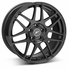 Piano Black Forgestar F14 Wheels (05-09)