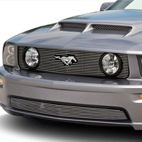 Modern Billet Polished Billet Grille - Upper (05-09 GT)