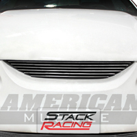Modern Billet Polished Pony Delete Billet Grille - Upper (94-98)