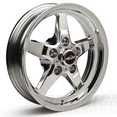 Polished Race Star Wheels (05-09)