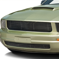 Modern Billet Polished Retro Billet Grille - Upper (05-09 V6)