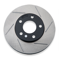Powerslot Slotted Rotors - Front Pair (94-04 GT, V6)