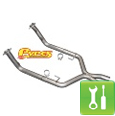 Pypes 409 Stainless Steel Off-Road X-Pipe ('05-'10 GT) - Installation Instructions