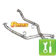 Pypes 409 Stainless Steel Off-Road X-Pipe ('99-'04 GT) - Installation Instructions