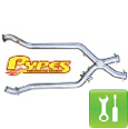 Pypes 409 Stainless Steel Off-Road X-Pipe (99-04 V6) - Installation Instructions