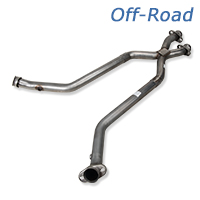 Pypes Off-Road X-Pipe (79-95 5.0L)