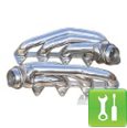 Pypes Polished 304 Stainless Steel Shorty Headers ('05-'10 GT) - Installation Instructions