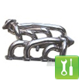 Pypes Polished 304 Stainless Steel Shorty Headers (94-95 GT) - Installation Instructions