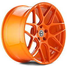 Race Orange HRE Flowform FF01 Wheels (2005-2009)