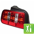 Raxiom 2010 Style Mustang Tail Lights ('05-'09) - Installation Instructions