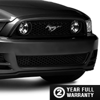 Raxiom GT Style Grille w/ LED Fog Lights (13-14 GT, V6, Boss)