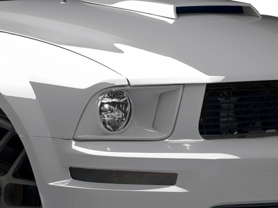 Raxiom Retro Style Headlights - Pre-Painted (05-09 GT, V6)