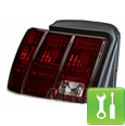 Raxiom Smoked Mustang Tail Lights (99-04) - Installation Instructions