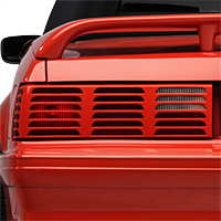 Replacement GT Style Tail Light Lens - LH (87-93 All)