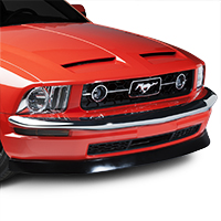 Retro USA Chrome Front Bumper Trim (05-09 V6)